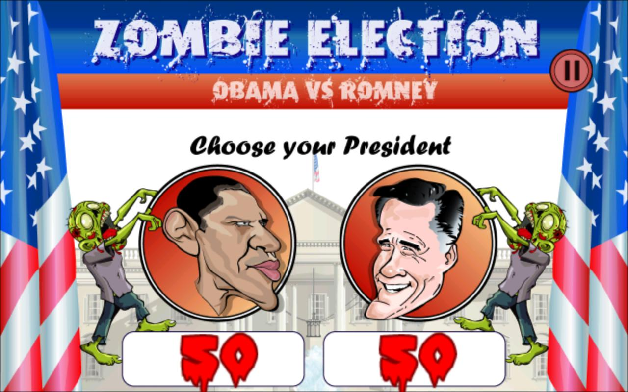 Zombie Election Obama / Romney