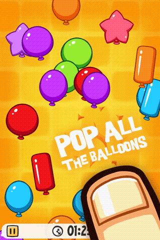 balloon party tap pop game » android games 365 free