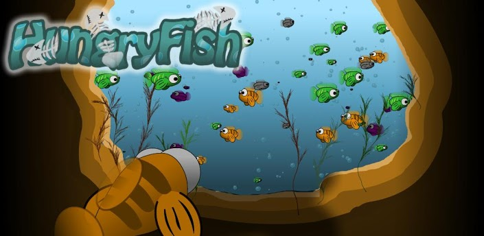Hungry fish android games 365 free android games download for Hungry fish game