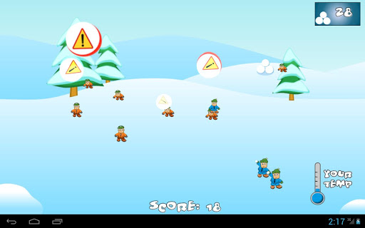 SnowBall Fight Winter Game HD Android apk game. SnowBall Fight ...