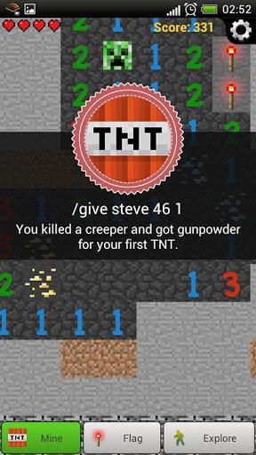 MineCraft Sweeper