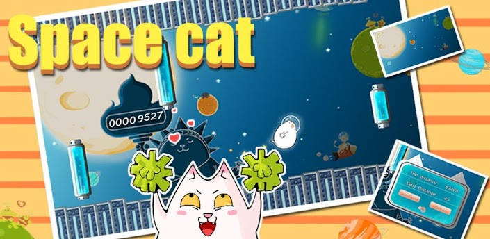 Space Cat » Android Games 365 - Free Android Games Download