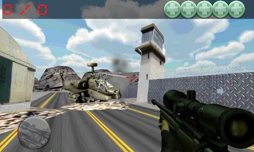 sniper command,airport war