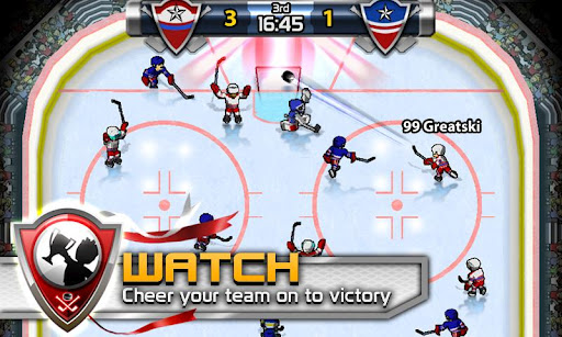 Big Win Hockey » Android Games 365 - Free Android Games Download