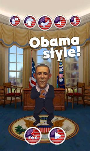 Talking Obama