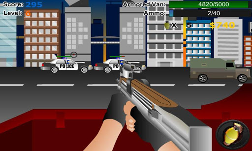 Bank Robber » Android Games 365 - Free Android Games Download