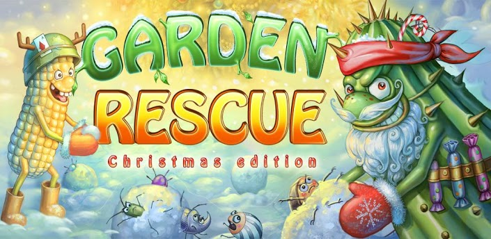 Garden Rescue Christmas Android Games 365 Free Android Games