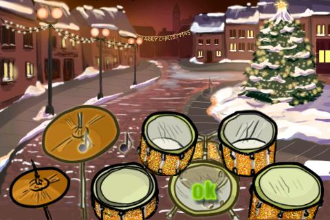 Christmas Drummer.Hit The Drums Xmas Edition Android Games 365 Free