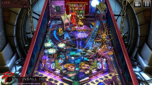 Zen Pinball HD » Android Games 365 - Free Android Games Download