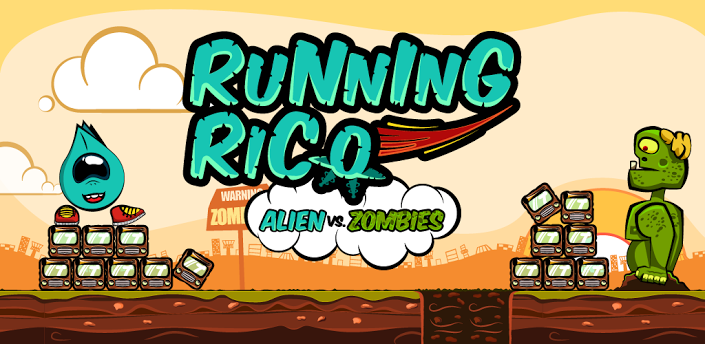 Angry Zombies vs Running Rico