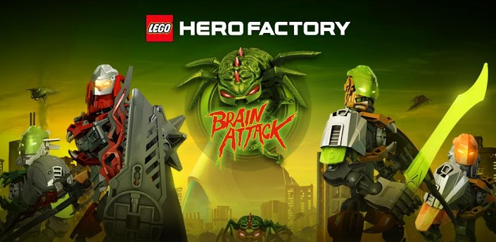LEGO® HeroFactory Brain Attack » Android Games 365 - Free Android ...