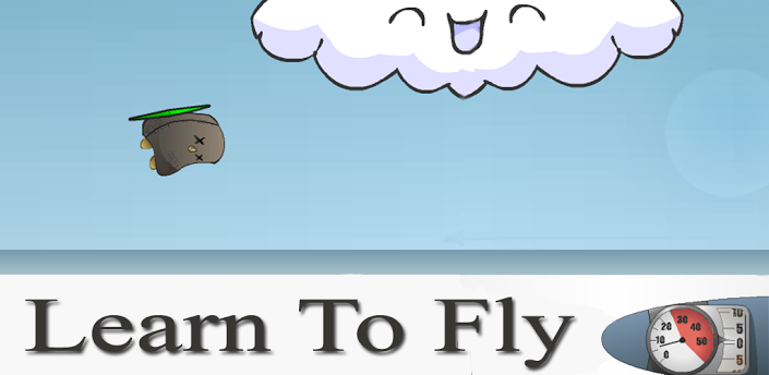 learn to fly full screen