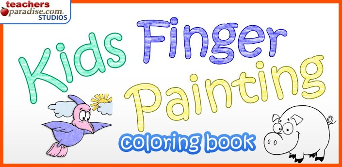kids finger painting coloring » Android Games 365 - Free Android ...