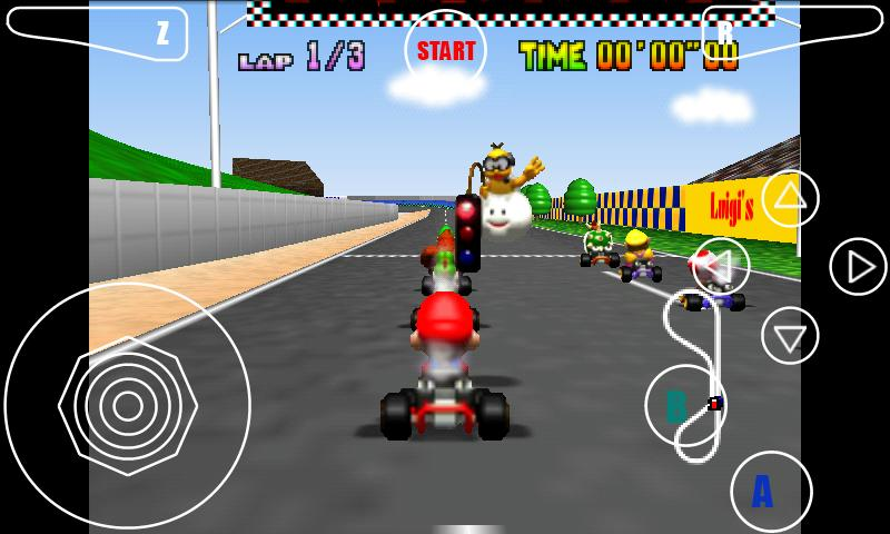 2 Player Race Car Games >> Super Mario Kart Racing Beta » Android Games 365 - Free Android Games Download