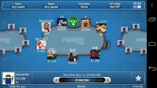 texas holdem poker vip