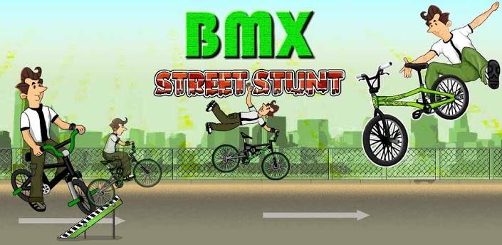 BMX Street Stunt
