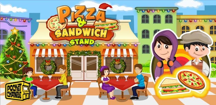Pizza & Sandwich Stand-Cooking