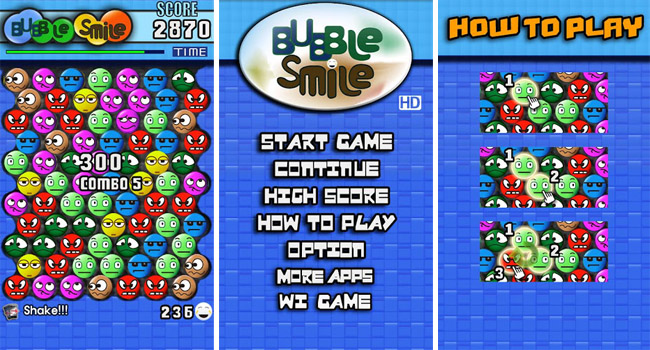 Bubblesmile hd 187 android games 365 free android games download