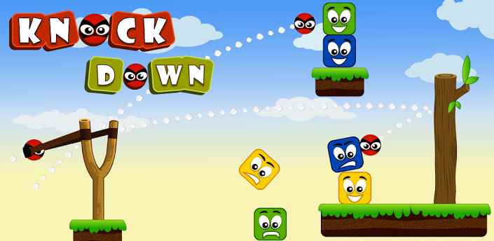 Knock Down Game for Android Phone