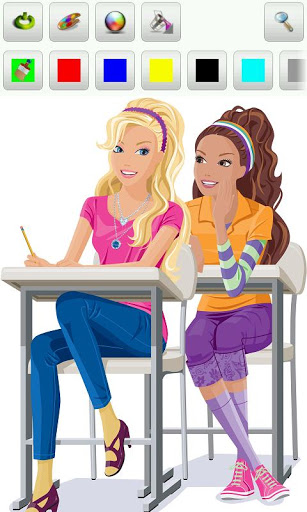 Barbie Coloring Pages Games Download : Barbie coloring pages � android games free