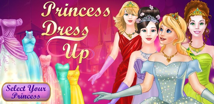 Princess dress up games for girls fashion