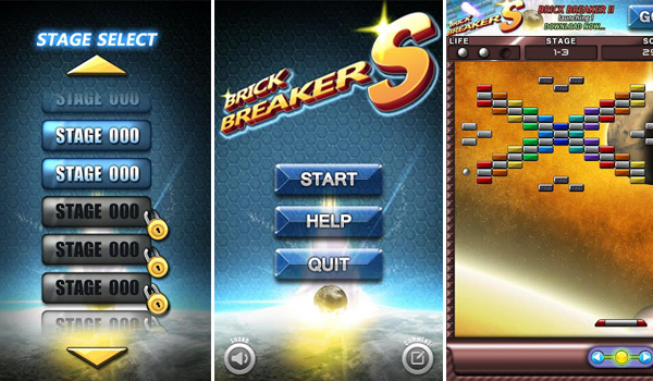 brick breaker game free download for android