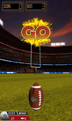 3D Flick Field Goal Android Games 365 Free Android