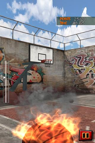 Basketball JAM 3D Shot Games