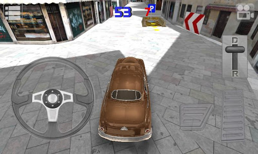 Classic Car Parking 3D » Android Games 365 - Free Android Games Download
