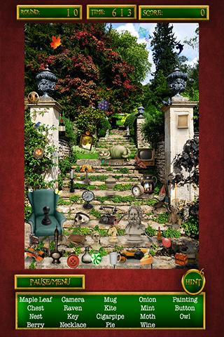 Hidden Object Mystery Gardens