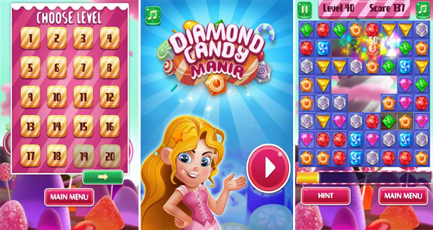 Diamond Candy Mania