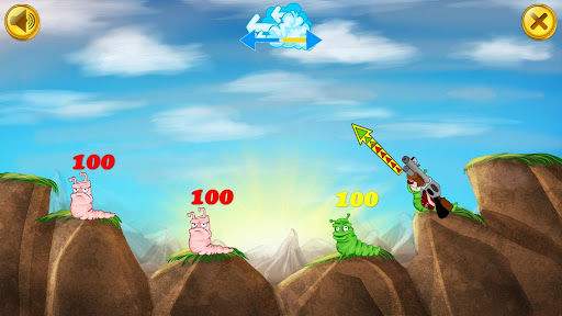 Worms Battle » Android Games 365 - Free Android Games Download
