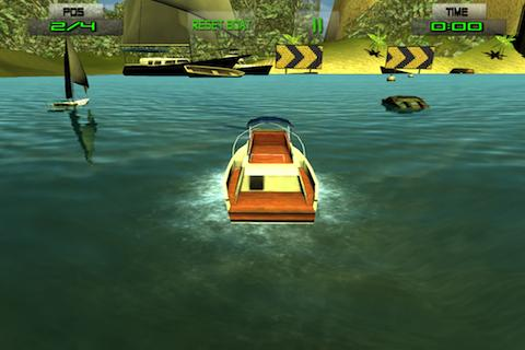 free boat racing games