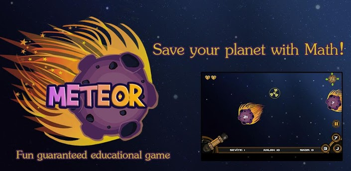 Meteor: Math Planet Defense