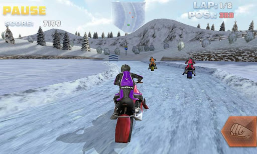 Bike Games For Android this Snow Bike simulator