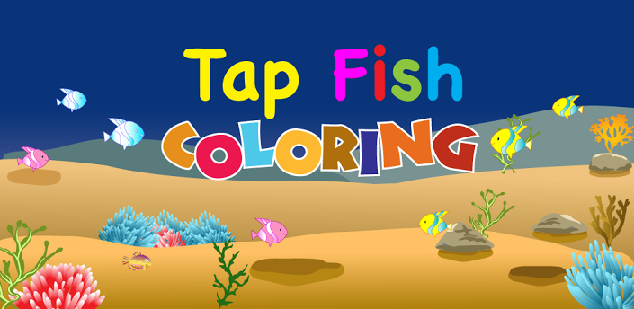 Tap fish coloring android games 365 free android games for Tap tap fish game