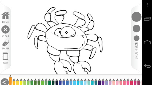 fish coloring pages games kids - photo#11