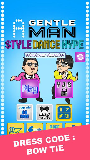 PSY Gentleman Style Dance Game