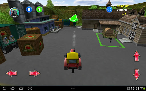 free tractor games