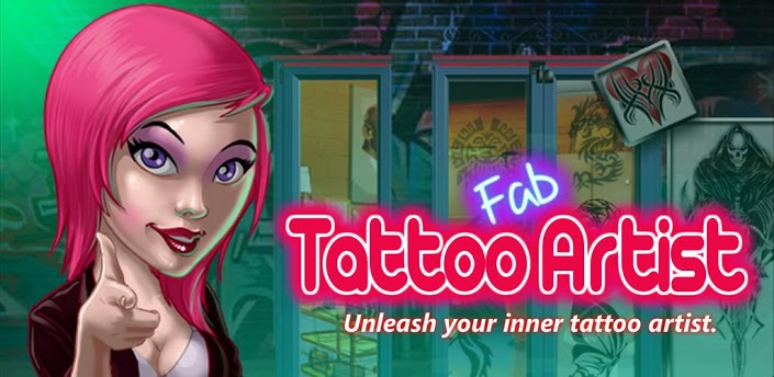 fab tattoo artist android games 365 free android games