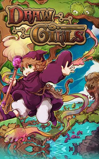 Игры для девочек рисуем