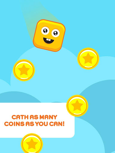 Collect as many coins as you can! But flee from stones that are there
