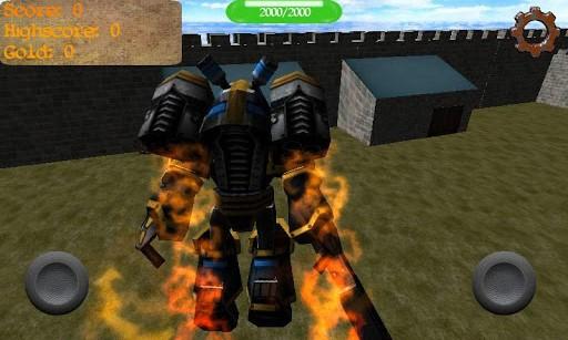 Gladiator Robot Builder 3D