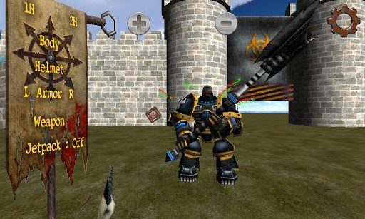Gladiator Robot Builder 3D