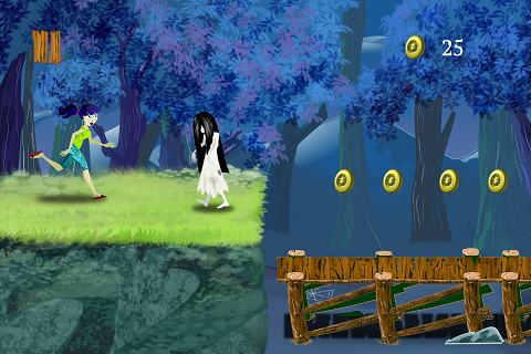 Slender Girl Dash » Android Games 365 - Free Android Games Download