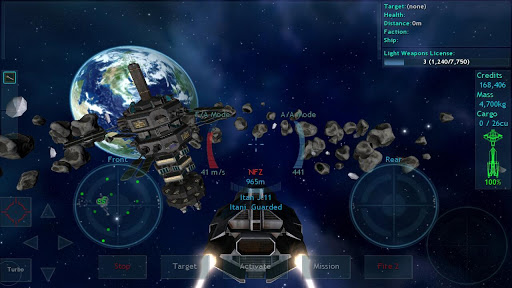 free mmo space games