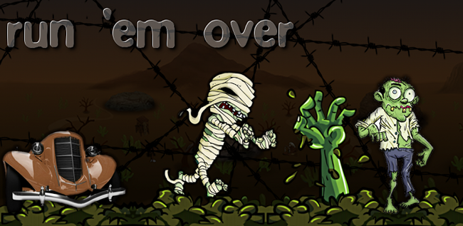 Run 'em over (ram the zombies)
