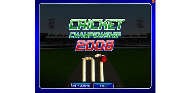 Cricket Championship game