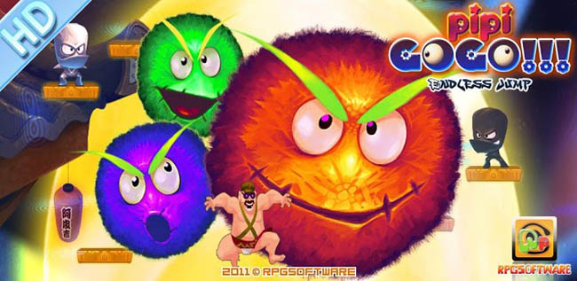 (Free) PiPi!Doodle Jump HD!