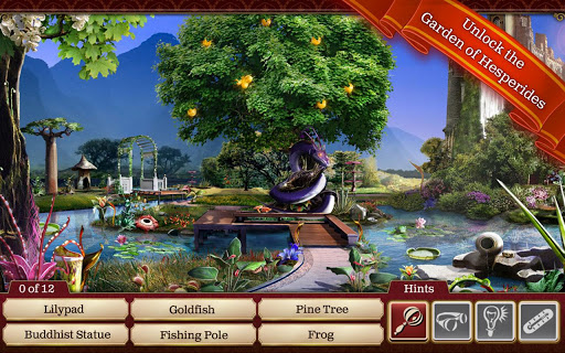 Delightful Hidden Objects:Gardens Of Time Nice Look